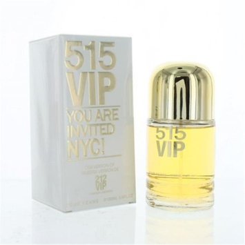 Eurolux ZZWEF515VIP34EDTSPR 515 Vip By Eau De Toilette Spray New in Box for Women 3.4 oz.