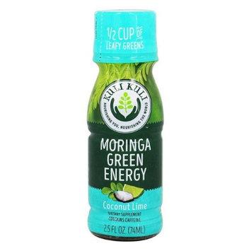 Kuli Kuli 1788603 Moringa Green Energy Shots 2.5 fl. oz - Case of 12