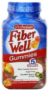 VITAFUSION, FIBER GUMMY (90/BT