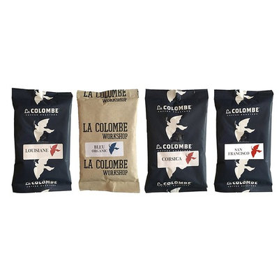 La Colombe Ground Coffee 3 oz Filter Packs - Pack of 3 (Variety Pack)