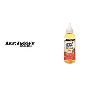 AUNT JACKIE'S OIL-Nourish My Hair Flaxseed & Monoi Growth Oil 4oz