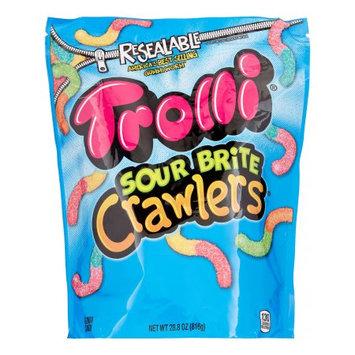 Ferrara Candy Company Trolli Sour Brite Crawlers Gummy Candy, 28.8 Oz Bag