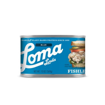 Atlantic Natural Foods Loma Blue ® Fishless Tuna (13 oz.)(Pack of 12)