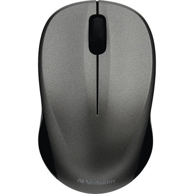 Verbatim Silent Wireless Blue LED Mouse Graphite 99769