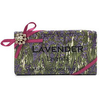 Alchimia Jeweled Lavender Vegetable Soap Handmade In Italy - 10.5 oz Soap Bar