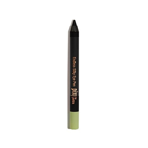 Pixi by Petra Endless Silky Eye Pen in BlackNoir (Black) 0.03 oz - Smooth, No Tug, Waterproof Eyeliner