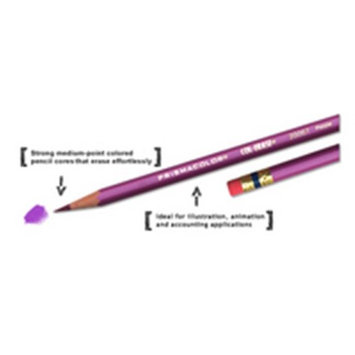 Prismacolor(R) Col-Erase(R) Pencils, Carmine Red, Box Of 12