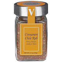 Cinnamon Chile Rub – Victoria Taylors 4.7 OZ Jar – Organic Blend of Red Peppers, Nutmeg, Chipotle, Ginger, Chili, Demerara Sugar, and Herbs like Parsley, Garlic, Green Onion and Onion makes a Gourmet Spice Mix – Ideal Seasoning for: Chicken, Pork, and Steak. Dry Rub makes any Meat delicious for the Grill!