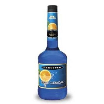Dekuyper Blue Curacao 48 Proof, 750 ml