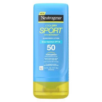 Neutrogena® Cooldry Sport Sunscreen Lotion Broad Spectrum - SPF 50 - 5 fl oz