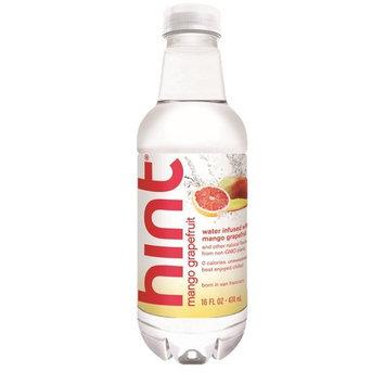Hint Unsweetened Essence Water, 16 Ounce Bottles (Pack of 6) (Mango Grapefruit)