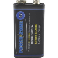 POWER ZONE 6LR61-1P-DB Alkaline Battery 9V, 1-Pack