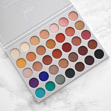 Beauty Brick Eyeshadow Palette - Limited Edition 35 Colors Eye Shadow Powder Make Up Waterproof Eye Shadow Palette Cosmetics, Addictive