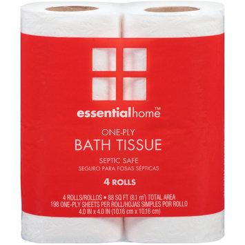 Essential Home Bath Tissue, 4 rolls