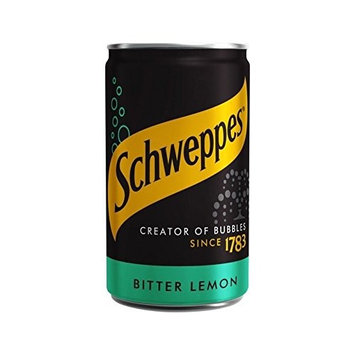 Schweppes Bitter Lemon Mini Can 150ml (Pack of 2)