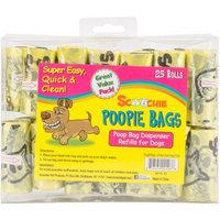 Scoochie Super Value Poopie Bag Refill Rolls 25/Pkg