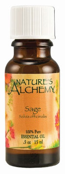 Nature's Alchemy 100% Pure Essential Oil Sage - 0.5 fl oz