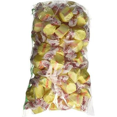 Taffy Town Banana Yellow Gourmet Salt Water Taffy 1 Pound Bag