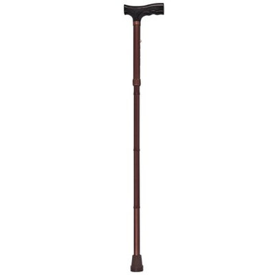 EasyComforts Brown Folding Cane