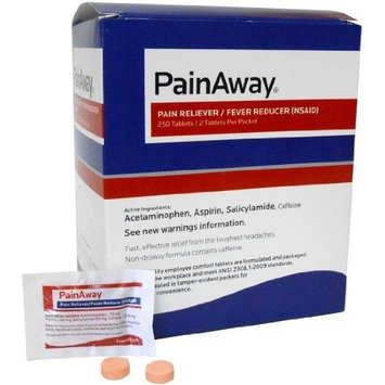 Pain Away® Individually Packaged Pain Reliever/Fever Reducer (250/Box)
