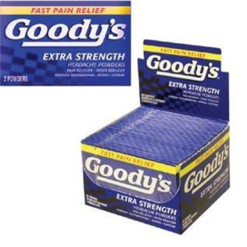 Goody's Extra Strength Headache powders 36's 2 pack by Goody's