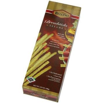 Bellino Sesame Breadsticks, 3.53 Ounce Boxes (Pack of 12)