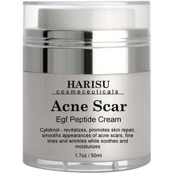 Harisu Cosmeceutical's EGF Wonder Cream,1.7 oz - Helps Get Rid of Acne Scars while Hydrating & Regenerating Skin