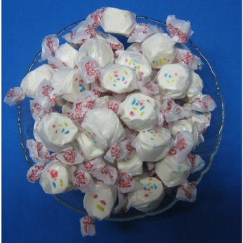 Frosted Cupcake Flavored Taffy Town Salt Water Taffy 1 Pound