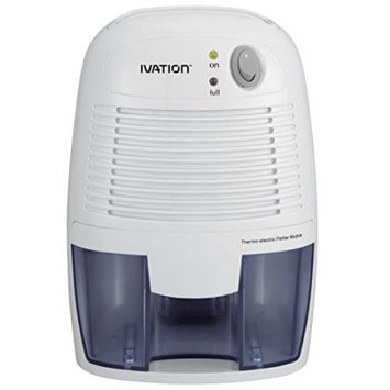 Ivation IVAGDM20 DehumMini Powerful Small-Size Thermo-Electric Dehumidifier - Great for Smaller Room, Basement, Attic, Boats, RV's & Antique Cars