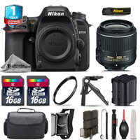 Tristatecamera Nikon D7500 DSLR Camera + 18-55mm VR + Extra Battery + UV + 32GB + 1yr Warranty