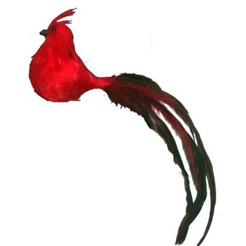Touch of Nature 28007 Fancy Tail Feather Bird, 7-Inch