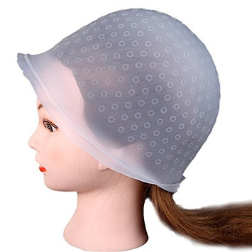 Lookatool Professional Salon Reusable Hair Colouring Highlighting Dye Cap Hat Hook Frosting Tipping