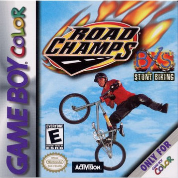 Road Champs: BXS Stunt Biking Game Boy Color