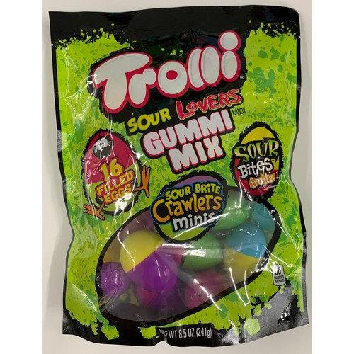 Trolli Sour Brite 2-color Fill Eggs 16ct