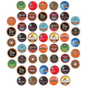 K Cups Coffee Pods Variety Pack, Premium Sampler, Keurig Single Serve (50 Count)