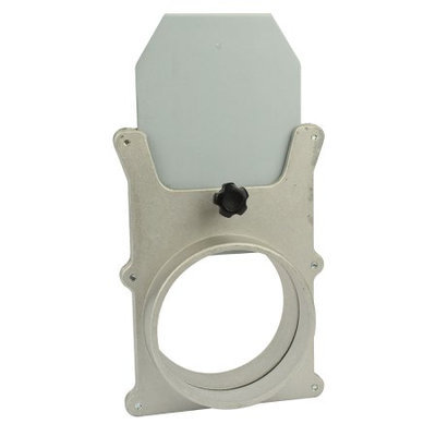Big Horn 11436 4-Inch Aluminum Blast Gate