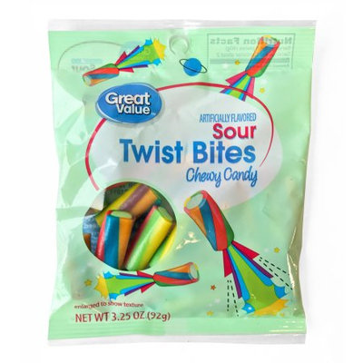 First Source Trading Inc. Great Value Gv Sour Twist Bite