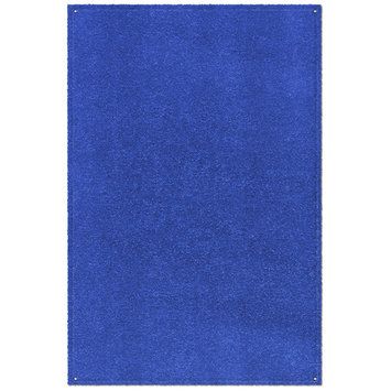 Prest-O-Fit 2-1081 Patio Rug Imperial Blue 6 Ft. x 9 Ft.