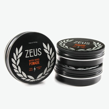 Zeus Firm Hold Pomade 3-Pack, Natural Verbena Lime