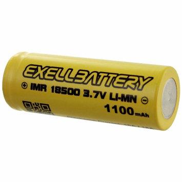 10pc IMR Rechargeable 18500 3.7V LI-MN High Drain 1100mAh 15A Batteries