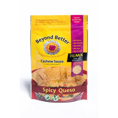 Beyond Better Cashew Cheese Spicy Queso