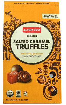 Alter Eco Truffles Dark Chocolate Salted Caramel - 4.2 oz pack of 12
