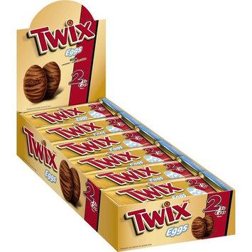 TWIX Easter Caramel Share Size Chocolate Cookie Bar Candy Eggs 2.12-Ounce Bar 24-Count Box [TWIX Caramel Egg]