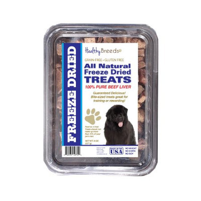 Healthy Breeds 840235147626 10 oz Newfoundland All Natural Freeze Dried Treats Beef Liver