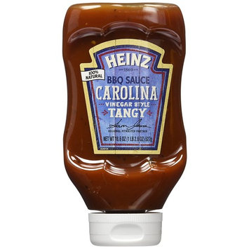 Heinz BBQ Sauce, Tangy Vinegar Carolina Style BBQ Sauce, 18.6 ounce squeezable bottle(Pack of 6)