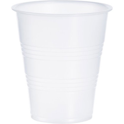 Solo Cup Galaxy Cold Cup, Plastic, 7oz, Translucent