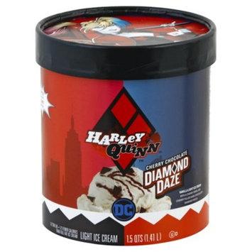 WARNER BROTHERS Harley Quinn™ Cherry Chocolate Diamond Daze Vanilla Light Ice Cream 1.5 qt. Tub