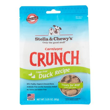 Stella and Chewys Carnivore Crunch Duck Treats 3.25oz