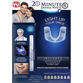INVENTEL 20 Minute Dental White RX, 0.25 Pound