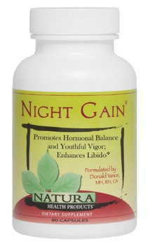 Natura Health Products - Night Gain - 90 Capsules